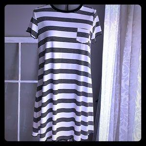 👗Cute striped dress by love, fire